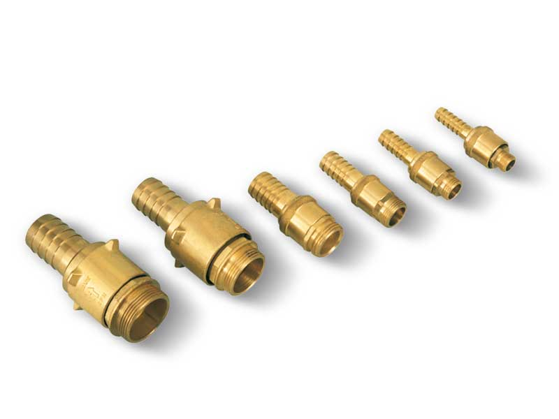 Rotating quick coupling fittings