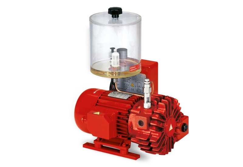 Vacuum pumps VTLP 5 and 10, with disposable lubrication