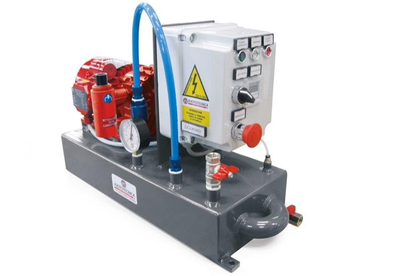 Mini pump sets DO 06V ... and DO 10V ... with dry vacuum pumps