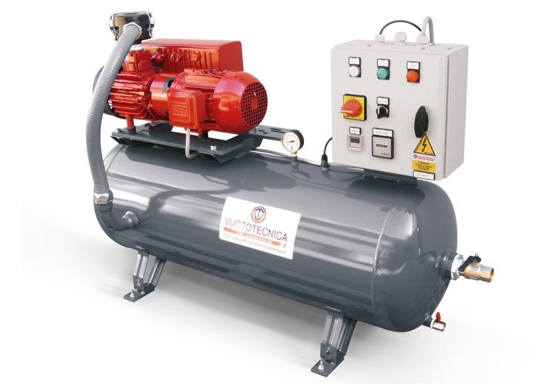 Horizontal pump sets DO 100V ... and DO 150V ...
