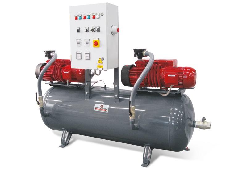 Horizontal safety pump sets DSO 300V ... and DSO 500V ...