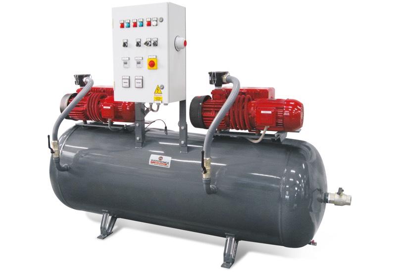 Horizontal safety pump sets DSO 1000V ...