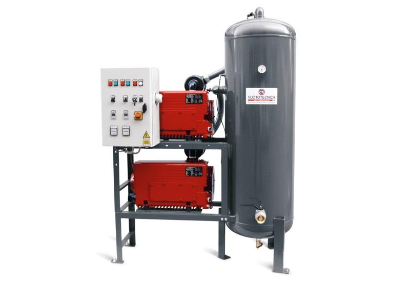 Vertical safety pump sets DSV 500V ... and DSV 1000V ...