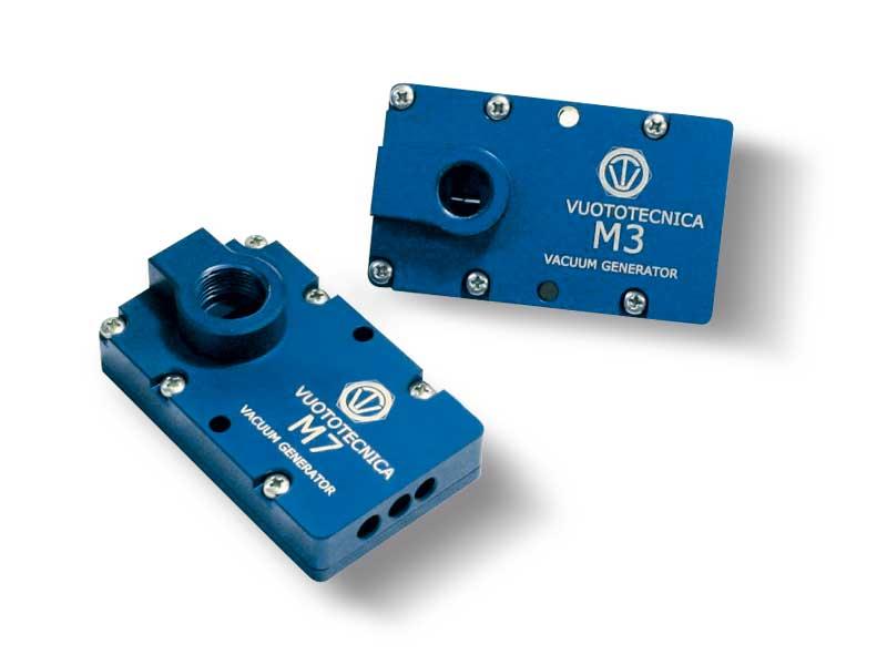 Multi-stage vacuum generators series M