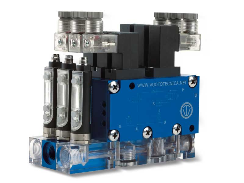 Multi-stage, multi-function and modular intermediate vacuum modules series MI - General description
