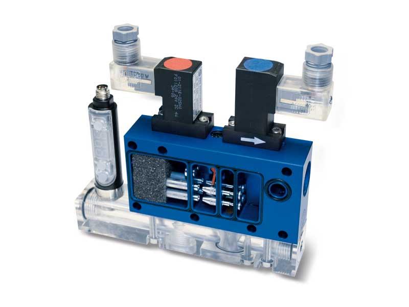 Intermediate vacuum modules MI 10 and MI 14