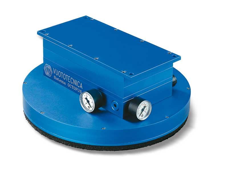 Round OCTOPUS vacuum gripping system