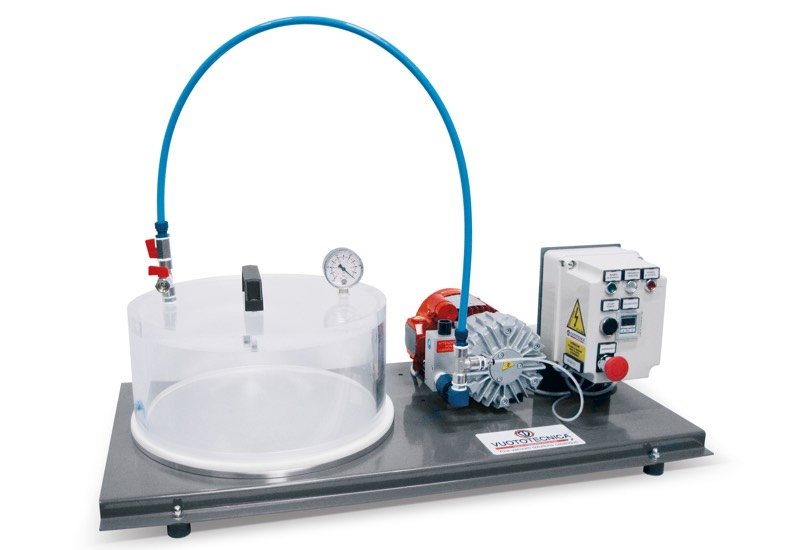 Electrical equipment for vacuum tests