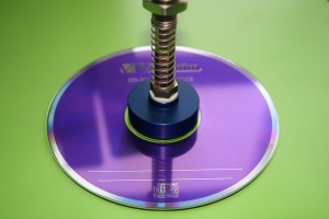 suction cup on a CD